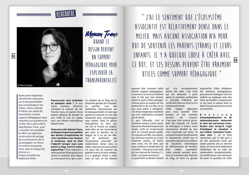 Article de Jeanne Magazine