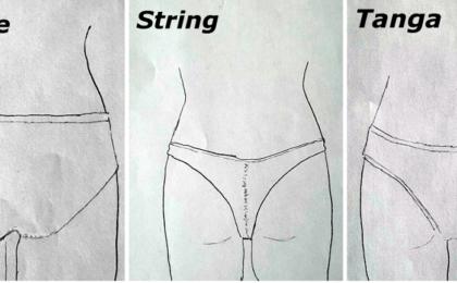 3 formes de culottes